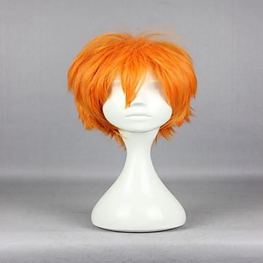 Synthetische Perücken Locken Damen Kappenlos Cosplay Perücke Synthetische Haare