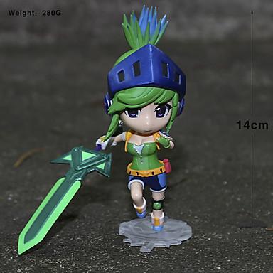 Anime Action Figurer Inspirert av LOL Cosplay PVC 14 CM Modell Leker Dukke