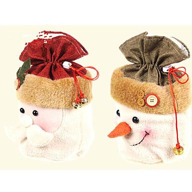 1kpl joulupukki joululahja kassi joululahja joululahja (random väri)