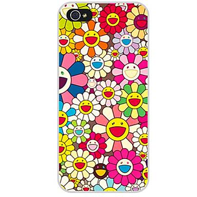 Funda Para Apple iPhone X / iPhone 8 / iPhone 8 Plus Diseños Funda Trasera Flor Suave TPU para iPhone X / iPhone 8 Plus / iPhone 8