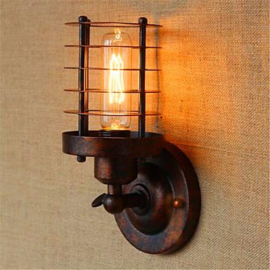 Rústico / Campestre / Campestre Lámparas de pared Metal Luz de pared 110-120V / 220-240V 40W