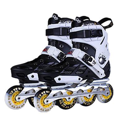 インラインスケート 成人 調整可能, アンチスリップ, 耐摩耗性 ホワイト, パープル, ブルー アイススケート / レジャースポーツ