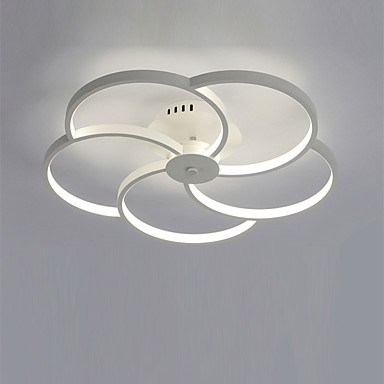 CXYlight 5-Light Takplafond Omgivelseslys - Mini Stil, LED, 110-120V / 220-240V, Varm Hvit / Hvit, Pære Inkludert / 20-30㎡