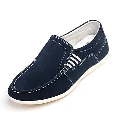 guttens loafers& slip-ons vår / sommer / høst / vinter komfort semsket uformell flat hæl gore / split joint / ruched navy andre