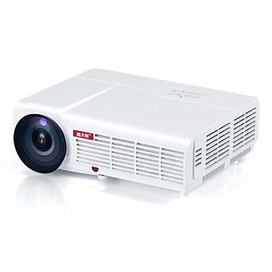 HTP LED-96 LCD Projetor para Home Theater LED Projetor 3000 lm Apoio, suporte WXGA (1280x800) 60-120 polegada Tela / ±15°