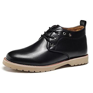 Miehet Oxford-kengät Comfort Nahka Kausaliteetti Musta Ruskea Alle 1in