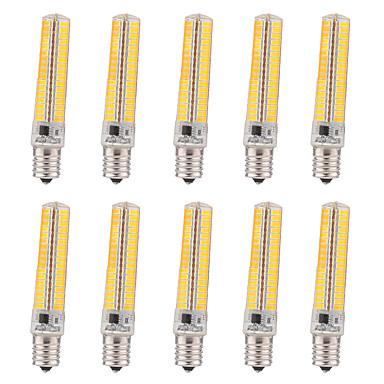 E17 LEDコーン型電球 T 136 LEDの SMD 5730 調光可能 装飾用 温白色 クールホワイト 1200-1400lm 2800-3200/6000-6500