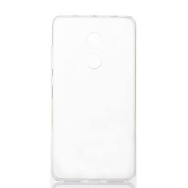 Asling pentru xiaomi roșu nota 4 material de protecție transparentă tpu caz