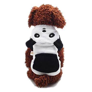 犬 コート 犬用ウェア カジュアル/普段着 動物 ホワイトとブラック