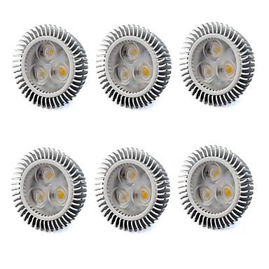 480 lm GU5,3(MR16) LED-kohdevalaisimet MR16 3 ledit Teho-LED Lämmin valkoinen Kylmä valkoinen AC 220-240V