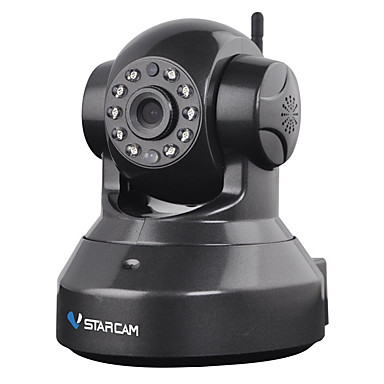 VSTARCAM® C7837WIP 720P 1.0MP Wi-Fi Security Surveillance IP Camera (Night Vision P2P Support 128GB TF Card)