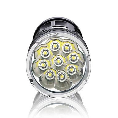 LED taskulamput LED 3000 lm 3 Tila LED Vedenkestävä Erityiskevyet High Power Himmennettävissä varten Telttailu/Retkely/Luolailu