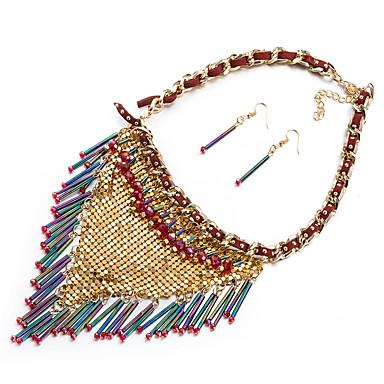 Mujer Circonita Conjunto de joyas - Europeo, Moda, Importante Incluir Arco iris Para Boda / Fiesta / Diario