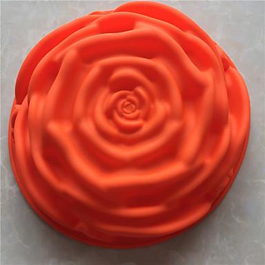 Bakeware-työkalut Silikoni Tarttumaton / 3D / DIY Leipä / Kakku / Cookie paistopinnan
