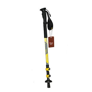 3 徒歩用スティック 135センチメートル(53インチ) 堅牢性 長さ調整可 伸縮自在 アルミ 炭素繊維