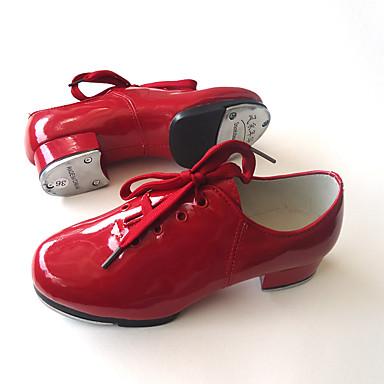 chaussures de danse noir rouge non personnalisables talon bottier cuir claquettes de 5384751. Black Bedroom Furniture Sets. Home Design Ideas