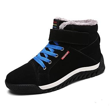 メンズ 靴 スエード 春 秋 冬 コンフォートシューズ ファッションブーツ ブーツ 用途 カジュアル ブラック ダークブルー ダークグリーン