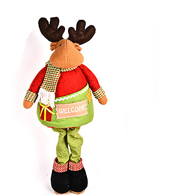 Joulukoristeet Joulufiguurit  Lelut Joulupukki-asu Hirvi Lumiukko Sisustustarvikkeet Poikien Tyttöjen Pieces