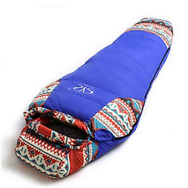 Sovepose Mumie Dukke Ned 10°C Hold Varm Velventilert Vanntett Bærbar Vindtett Regn-sikker Sammenleggbar Forseglet 230X100 Camping
