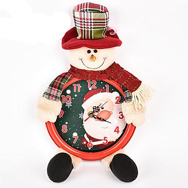 ホリデー・デコレーション クリスマスデコレーション おもちゃ サンタスーツ 雪だるま 調度品 男の子 女の子 小品