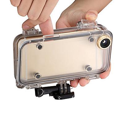 Sukelluskotelo Case Vedenkestävä Pölynkestävä varten Toimintakamera iPhone iOS Universaali Silikoni