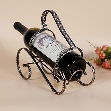 Viinitelineet Valurauta,23.5*11*20CM viini Lisätarvikkeet