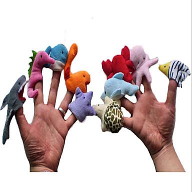 Fantoches de dedo / Animais de Pelúcia Dinossauro Novidades Felpudo Para Meninas Dom
