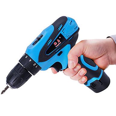 to-speed multi-funksjons elektrisk skrutrekker pistol drill