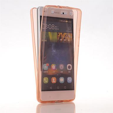 hoesje Voor Huawei Huawei P8 Lite P8 Lite Huawei hoesje Ultradun Volledig hoesje Effen Kleur Zacht TPU voor Huawei P8 Lite Huawei