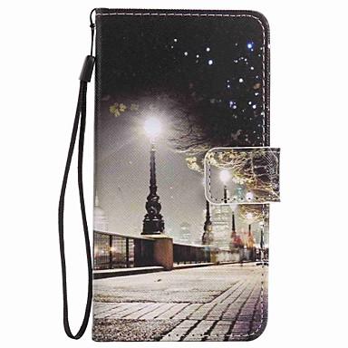 Etui Til LG LG Nexus 5X LG K10 LG K7 Kortholder Lommebok med stativ Heldekkende etui By Utsikt Hard PU Leather til LG X Power