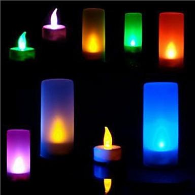 LED-belysning Metallisk Plast Jente Gave 1pcs
