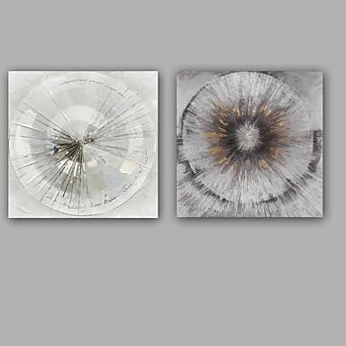 Hang malte oljemaleri Håndmalte - Abstrakt Klassisk / Moderne Inkluder indre ramme / Stretched Canvas