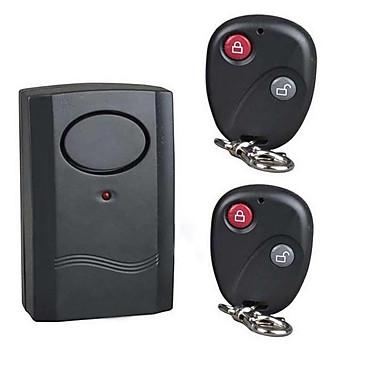 Hjem og Kontor Alarm Svart Enkel å installere og sette opp, og gir effektiv sikkerhet både i hjemmet og på kontoret Anti-tapt Alarm Svart