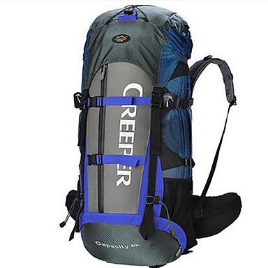 60 L Retkeilyreput Travel Organizer Backpack Retkeily ja vaellus Matkailu Monitoiminen Nylon Oxford