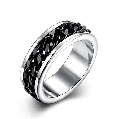 男性用 指輪 婚約指輪 オリジナル ファッション 欧風 ステンレス鋼 銀メッキ ジュエリー 結婚式 パーティー 日常 カジュアル スポーツ