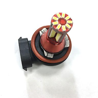 Carro Lâmpadas SMD 3014 LED Luz Anti Neblina