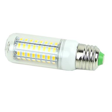 5W E26/E27 LED-maissilamput T 72LED ledit SMD 5730 Koristeltu Lämmin valkoinen Kylmä valkoinen 3000/6500lm 3000K/6500KK AC 220-240V