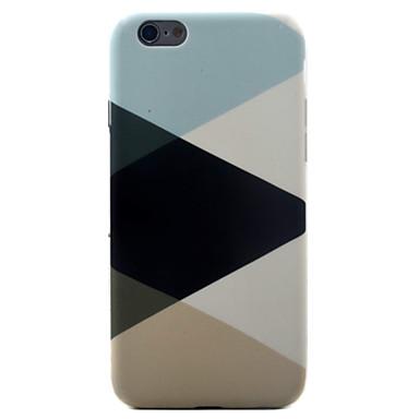 Käyttötarkoitus iPhone X iPhone 8 iPhone 7 iPhone 7 Plus iPhone 6 kotelot kuoret Kuvio Takakuori Etui Geometrinen printti Pehmeä TPU