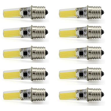 9W E17 LEDスポットライト T 1 COB 350 lm 温白色 / クールホワイト 装飾用 V 10個