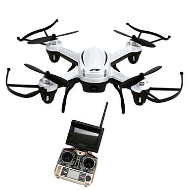 billige Fjernstyrte quadcoptere og multirotorer-RC Drone JJRC H32GH 4 Kanaler 6 Akse 5.8G Med HD-kamera 2.0MP Fjernstyrt quadkopter LED Lys / En Tast For Retur / Auto-Takeoff Fjernstyrt