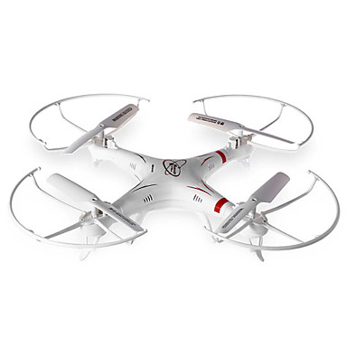 RC Drone HUANQI 898B 4 Kanaler 6 Akse 2.4G Med kamera Fjernstyrt quadkopter LED-belysning En Tast For Retur Hodeløs Modus Flyvning Med