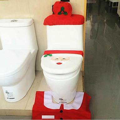 joulupukki WC kattaa matot säiliön kansi kudos laatikot