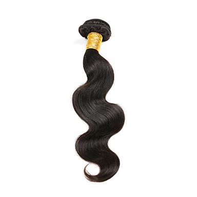 1 paquete Cabello Peruano Ondulado Grande Cabello Virgen Tejidos Humanos Cabello 10-30 pulgada Cabello humano teje 7a Extensiones de cabello humano