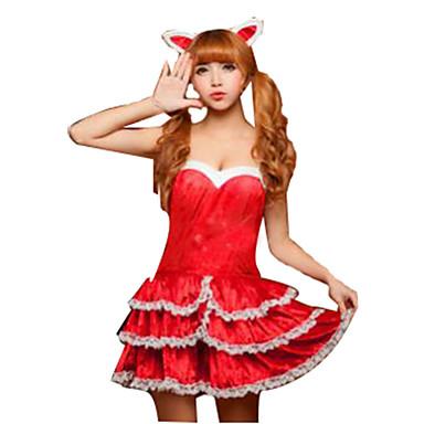 Festival Svátek Halloweenské kostýmy Jednobarevné Šaty Šátek Doplňky do  vlasů Vánoce Dámské eb1c9a0823