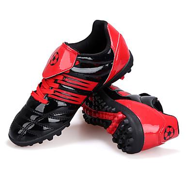 サッカー・シューズ 子供用 アンチスリップ 手ぶれ補正 高通気性 耐摩耗性 ローカット PVCレザー サッカー