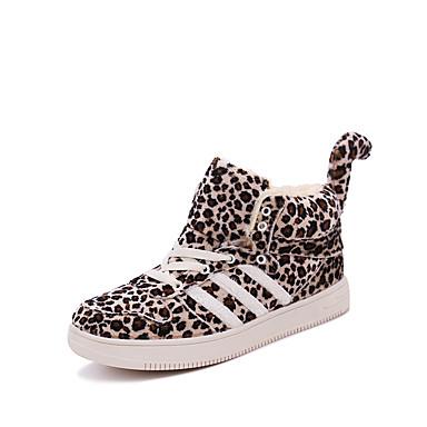 Miehet kengät Mokkanahka Kevät Syksy Talvi Comfort Muotisaappaat Bootsit Käyttötarkoitus Kausaliteetti Ruskea