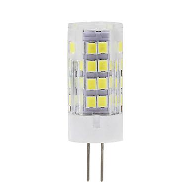 450 lm G9 G4 LED-maissilamput T 51 ledit SMD 2835 Koristeltu Lämmin valkoinen Kylmä valkoinen AC 220-240V
