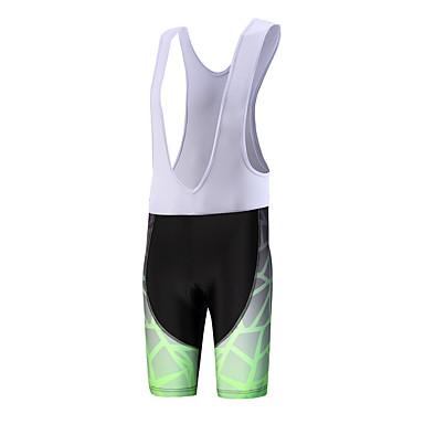 Shorts med seler til sykning Herre Pustende Fort Tørring Anatomisk design Anvendelig Svettereduserende Sykkel Sykkelshorts Med Seler