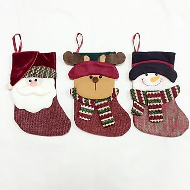 高品質メートルサイズの繊維クリスマスストッキング