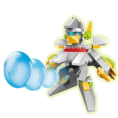アクションフィギュア&ぬいぐるみ / ブロックおもちゃ ギフトのため ブロックおもちゃ プラモデル&組み立ておもちゃ 戦士 / ロボット ABS 5~7歳 / 8~13歳 / 14歳以上 ロイヤルブルー / アイボリー おもちゃ